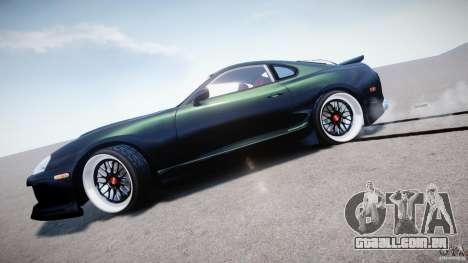 Toyota Supra JZA80 para GTA 4 vista superior