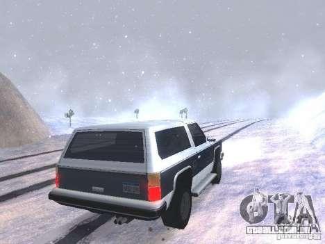 Snow MOD HQ V2.0 para GTA San Andreas sétima tela