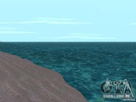 Fumaça e novas água de texturas para GTA San Andreas segunda tela