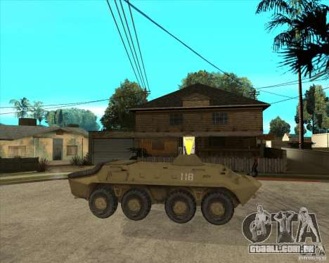 O APC da s. l. a. t. k. e. R para GTA San Andreas vista direita