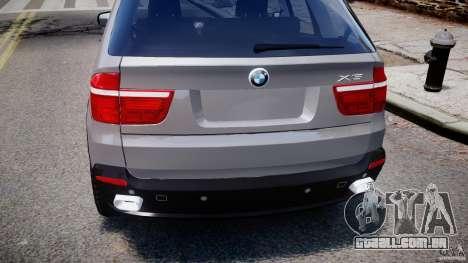 BMW X5 xDrive 4.8i 2009 v1.1 para GTA 4 vista superior