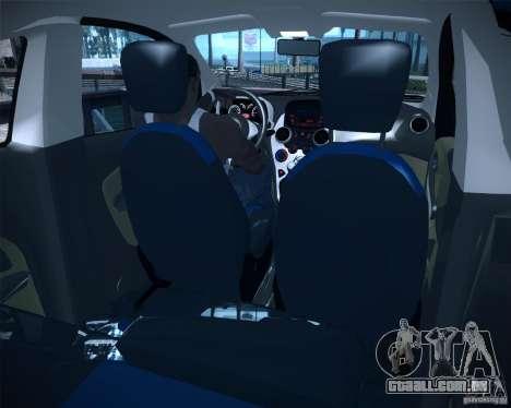 Ford Ka 2011 para GTA San Andreas traseira esquerda vista