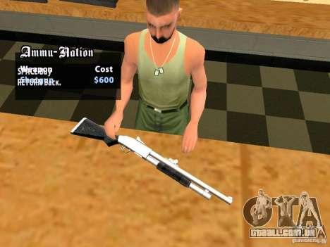 TeK Weapon Pack para GTA San Andreas décimo tela