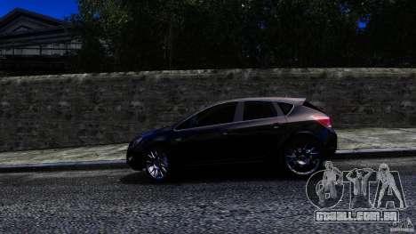 Opel Astra para GTA 4 traseira esquerda vista