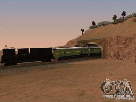 2te10u-0238 para GTA San Andreas vista direita
