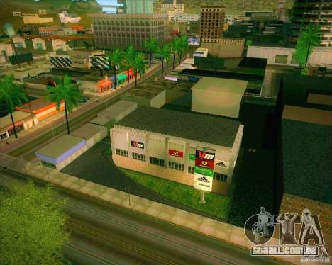 Novas texturas, Hospital Geral de todos os Santo para GTA San Andreas segunda tela