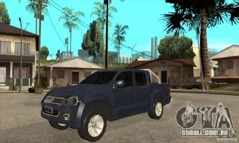 Volkswagen Amarok 2010 para GTA San Andreas