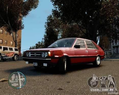 FSO Polonez 1500 Borewicz para GTA 4 traseira esquerda vista