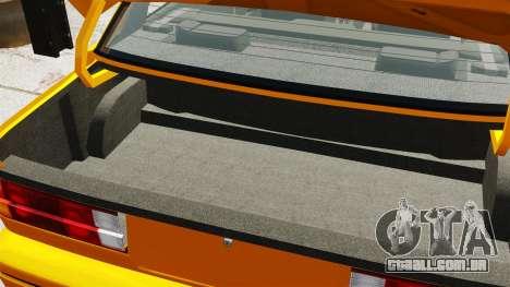 BMW M3 E30 v2.0 para GTA 4 vista lateral