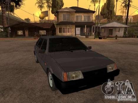 VAZ 21093 para GTA San Andreas vista traseira