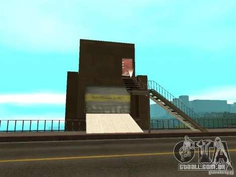 Ponte de ponte vermelha-elevador para GTA San Andreas