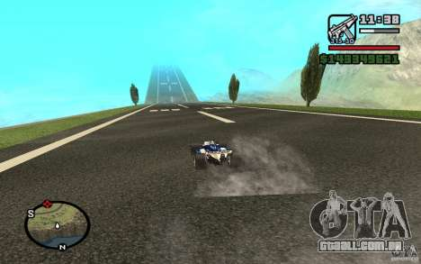 High-speed line para GTA San Andreas