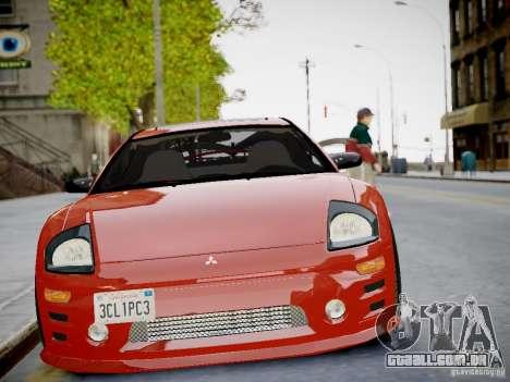 Mitsubishi Eclipse GT-S v1.0 para GTA 4 vista de volta