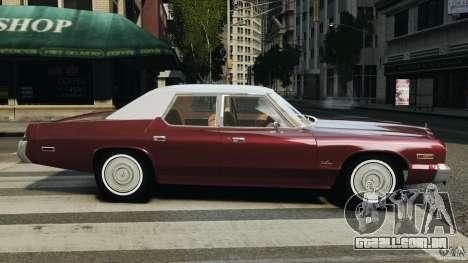 Dodge Monaco 1974 v1.0 para GTA 4 esquerda vista