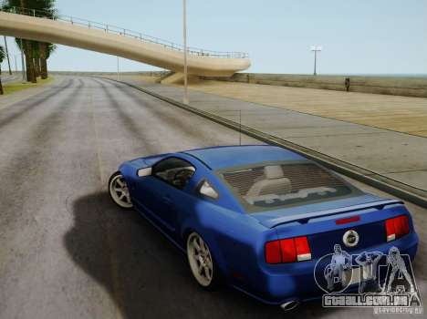 Ford Mustang Twin Turbo para GTA San Andreas vista interior