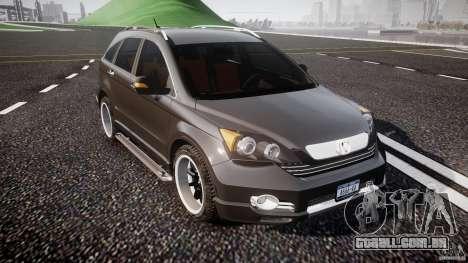 Honda C-RV SeX_BomB 2007 para GTA 4 vista interior