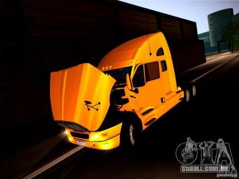 KenWorth T2000 v 2.8 para GTA San Andreas vista traseira
