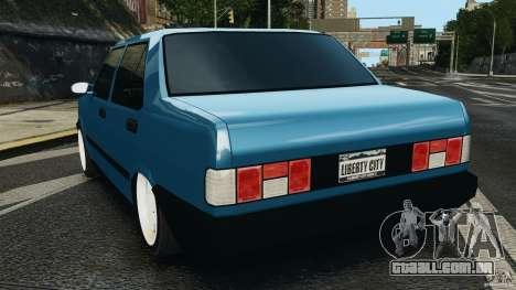 Tofas Dogan SLX EmreAKIN Edition para GTA 4 traseira esquerda vista