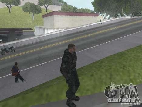 Hobo para GTA San Andreas por diante tela