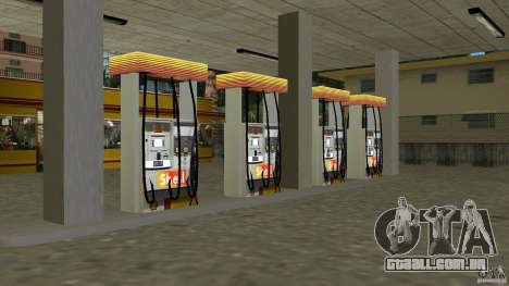 Shell Station para GTA Vice City terceira tela