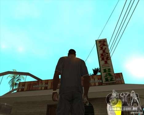Salierys Bar para GTA San Andreas segunda tela