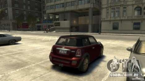 Mini John Cooper Works 2009 para GTA 4 vista direita