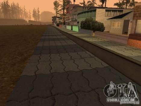 HD Santa Maria Beach para GTA San Andreas segunda tela