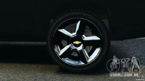 Chevrolet Avalanche 2007 [ELS] para GTA 4 vista superior