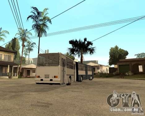 IKARUS 280 para GTA San Andreas vista direita