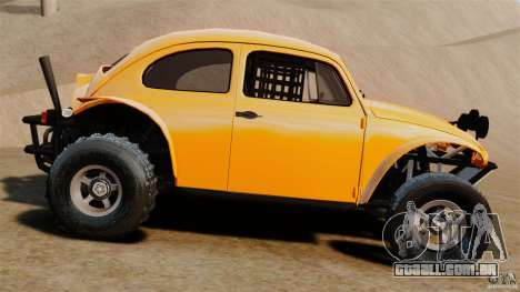 Volkswagen Fusca Buggy 1963 para GTA 4 esquerda vista