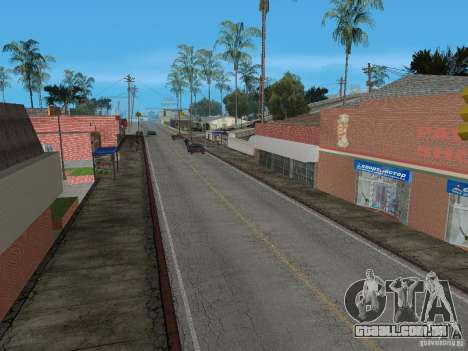 Novo Groove Street para GTA San Andreas terceira tela