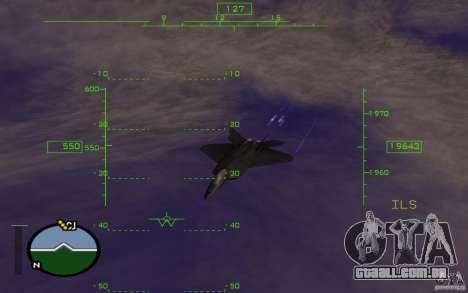 A mesosfera em vôo para GTA San Andreas terceira tela