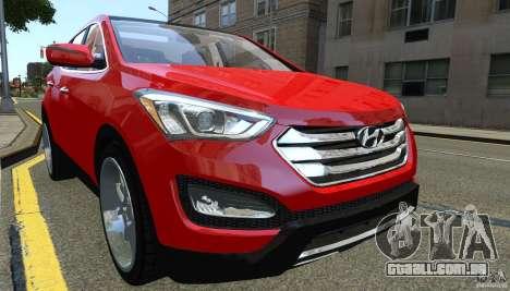 Hyundai Santa Fe Sport 2013 para GTA 4 esquerda vista
