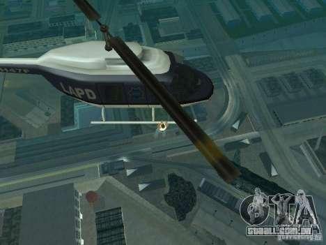 Helicopter Grab v1.0 para GTA San Andreas