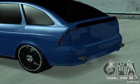 Lada Priora 2012 para GTA San Andreas traseira esquerda vista