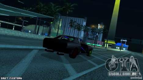 Elegy hard para GTA San Andreas traseira esquerda vista