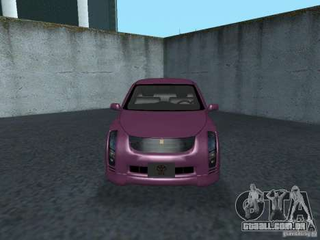 Toyota WiLL Cypha para GTA San Andreas esquerda vista