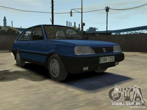 FSO Polonez Caro para GTA 4 interior