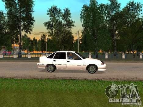 Daewoo Nexia para GTA San Andreas esquerda vista