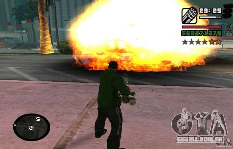 New Effects [HQ] para GTA San Andreas terceira tela