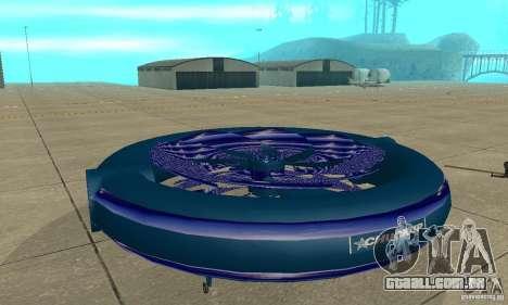 Chuckup para GTA San Andreas traseira esquerda vista