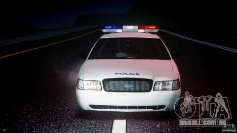 Ford Crown Victoria CVPI-V4.4M [ELS] para GTA 4 vista superior