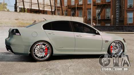 Chevrolet Lumina 2009 Mr. Bolleck Edition para GTA 4 esquerda vista