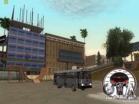 Trólebus LAZ-52522 para GTA San Andreas vista direita