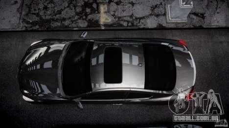 Infiniti G37 Sport 2008 JDM Tune (Beta) para GTA 4 vista superior