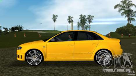 Audi RS4 para GTA Vice City deixou vista