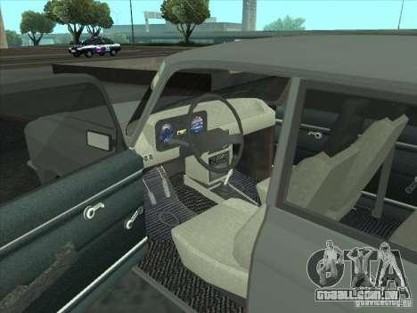 SL Moskvich 2140 para GTA San Andreas vista direita