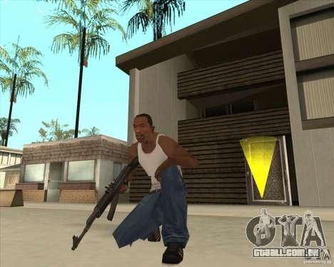 AK-47 HD para GTA San Andreas