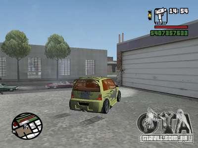 1111 OKA (tuning) para GTA San Andreas vista traseira