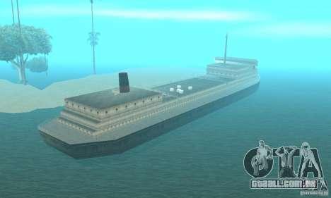 Lost Island para GTA San Andreas terceira tela